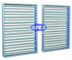Aluminium Aerofoil Dampers Manufacturers and Suppliers in India - Apex